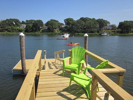 West Dennis Cape Cod vacation rental - New Dock 7/1/17.  Bring your own boats or kayaks or rent locally.