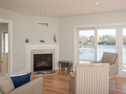 West Dennis Cape Cod vacation rental - Feels like you are on a boat when looking out to the water.