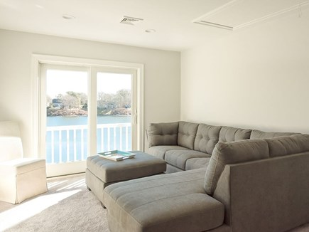West Dennis Cape Cod vacation rental - Second Floor Loft area w/pullout queen and large flat screen tv.