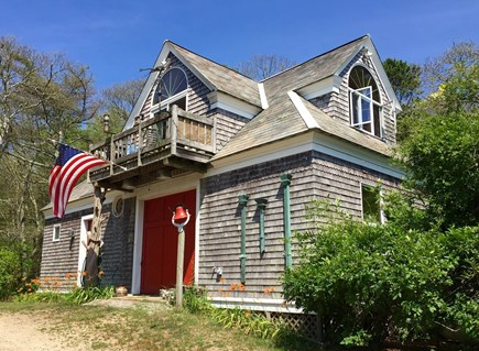 Wareham MA vacation rental - The Loft is up one flight of stairs on the second floor