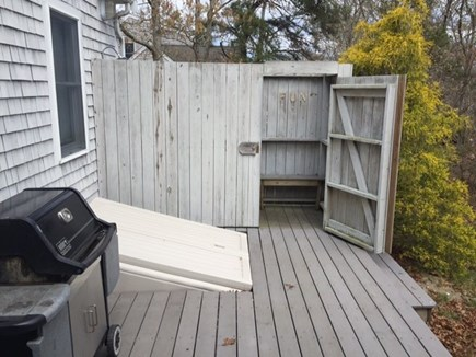 Eastham Cape Cod vacation rental - Outside Shower