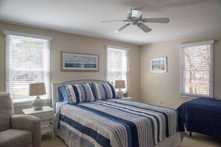 Eastham Cape Cod vacation rental - First Floor Queen Bedroom with a Twin