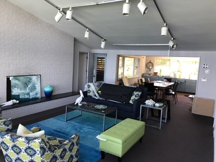 Falmouth Cape Cod vacation rental - Living /dining area