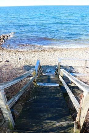 Falmouth Cape Cod vacation rental - Beach 1 in back yard. Sandy Association beach just steps away.