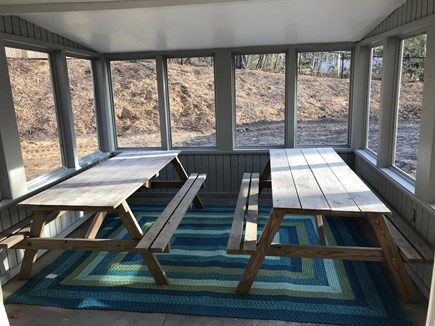 Eastham Cape Cod vacation rental - Covered outdoor eating area