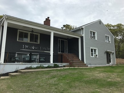 Eastham Cape Cod vacation rental - Front of the house welcome to Horseshoe Landing!