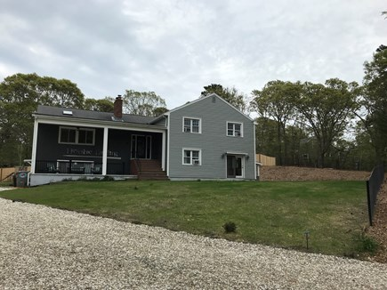 Eastham Cape Cod vacation rental - Front of the house with large yard for the kids to play!