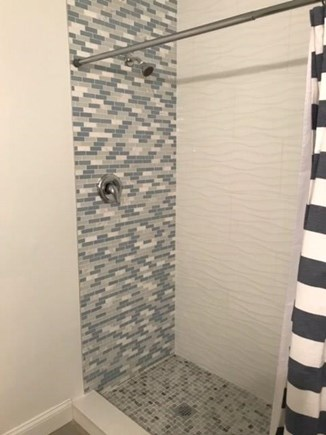 Eastham Cape Cod vacation rental - Tiled shower in middle level