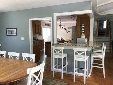Eastham Cape Cod vacation rental - Looking from the breakfast bar into the main kitchen