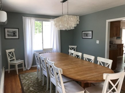 Eastham Cape Cod vacation rental - Large dining room on the main floor.