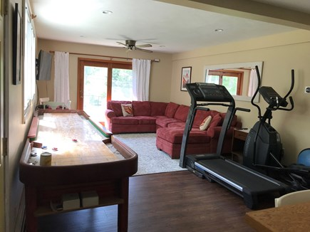Eastham Cape Cod vacation rental - 2nd living room on the middle level.