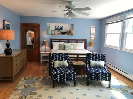 Eastham Cape Cod vacation rental - Master bedroom on the upper level with a king and full bath.