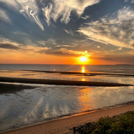 Eastham Cape Cod vacation rental - The amazing sunsets you will see at the beach .5 mile away. Enjoy