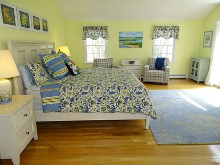 Mashpee, Popponesset Cape Cod vacation rental - Large master suite with private deck and bathroom
