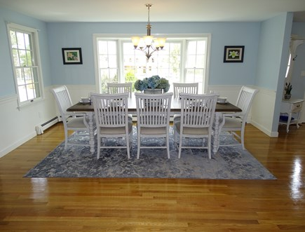 Mashpee, Popponesset Cape Cod vacation rental - Elegant dining room