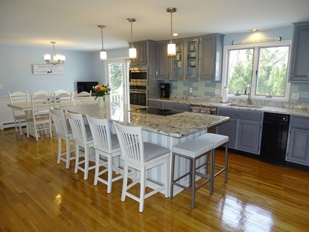 Mashpee, Popponesset Cape Cod vacation rental - Lovely new kitchen with dining area