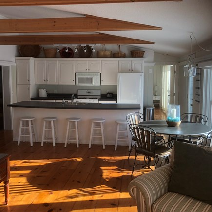 West Yarmouth Cape Cod vacation rental - Looking into kitchen