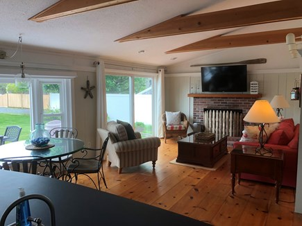 West Yarmouth Cape Cod vacation rental - Family Room from Kitchen View