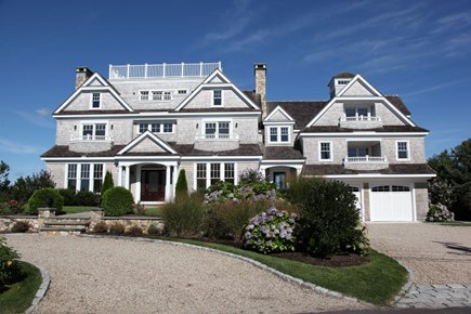 West Yarmouth Cape Cod vacation rental - Front view, roof deck and 2 car garage