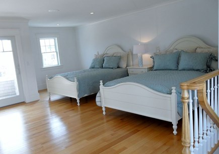 West Yarmouth Cape Cod vacation rental - Bedroom with 2 queen beds gorgeous tiled shower and large jet tub