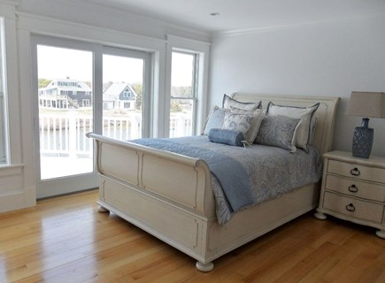 West Yarmouth Cape Cod vacation rental - This bedroom also has private bath with tub and shower and slider
