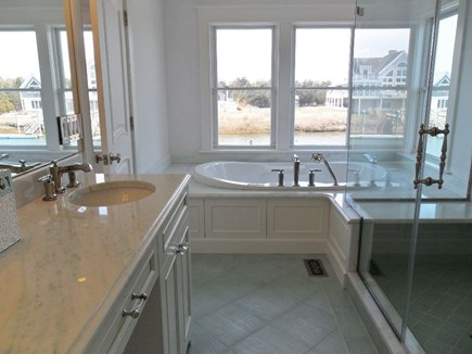 West Yarmouth Cape Cod vacation rental - This bathroom has large shower as well as jet tub