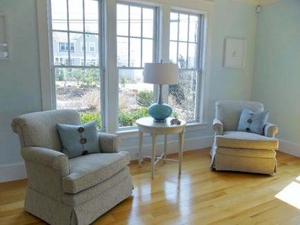 West Yarmouth Cape Cod vacation rental - Front of living room with comfy swivel rockers