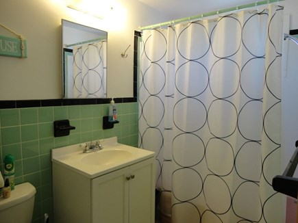 West Dennis Cape Cod vacation rental - Retro bathroom