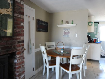 West Dennis Cape Cod vacation rental - Dining area off of the kitchen