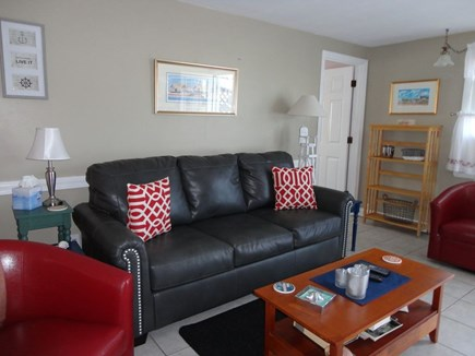 West Dennis Cape Cod vacation rental - Comfortable living room