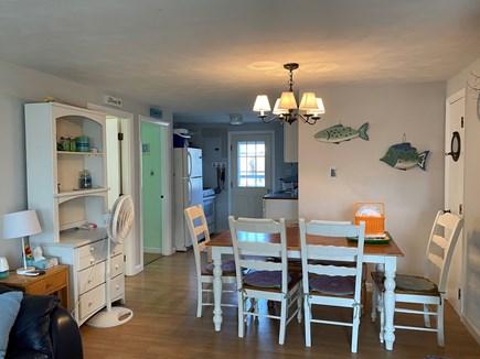 West Dennis Cape Cod vacation rental - Unit 12 kitchen/dining area