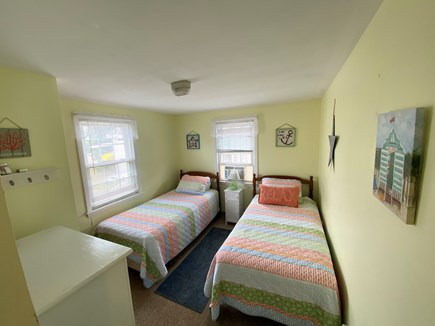 West Dennis Cape Cod vacation rental - Unit 10 Twin Bedroom, bright and airy