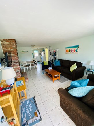 West Dennis Cape Cod vacation rental - Unit 10 Living/Dining/Kitchen Area