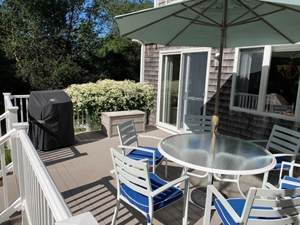 Orleans Cape Cod vacation rental - Rear deck with gas grill