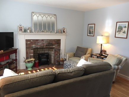 No. Falmouth Cape Cod vacation rental - Cozy living room