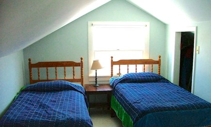 Orleans Cape Cod vacation rental - Bedroom #2 (2nd floor) w/2 Twins