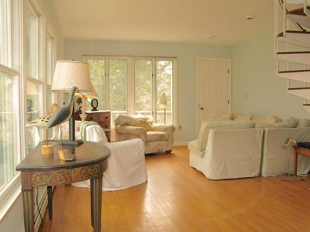 Orleans Cape Cod vacation rental - Family room (2nd floor) with deck access