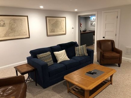 Orleans Cape Cod vacation rental - Lower level living area