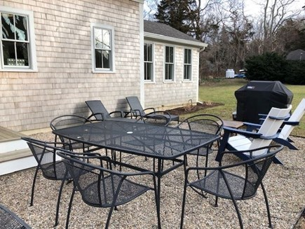 Orleans Cape Cod vacation rental - Enjoy dinner out on the patio