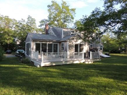 Barnstable Cape Cod vacation rental - Backyard