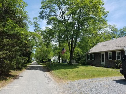 Barnstable Cape Cod vacation rental - View down the lane