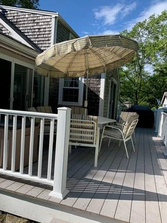 Barnstable Cape Cod vacation rental - Back Deck