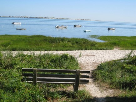 Barnstable Cape Cod vacation rental - Short walk to a private beach at the end of the lane.