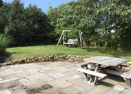 Harwich Cape Cod vacation rental - Patio Space