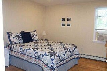 Falmouth Heights Cape Cod vacation rental - 1st floor master bedroom with on-suite bathroom.
