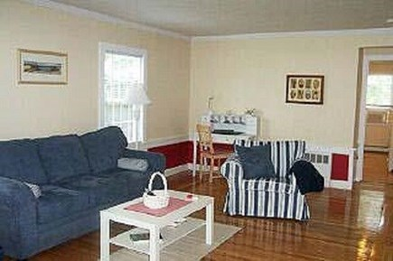 Falmouth Heights Cape Cod vacation rental - Living room.