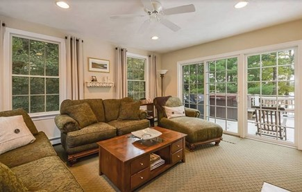 Marstons Mills Marstons Mills vacation rental - Comfortable living space.  Big TV and beautiful views