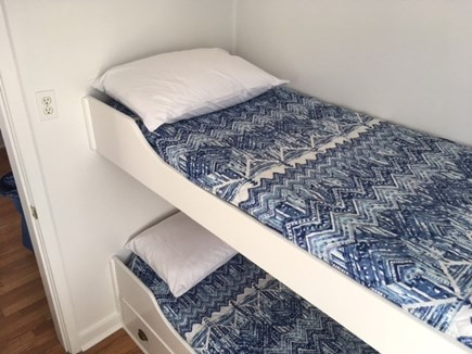 Eastham Cape Cod vacation rental - Bedroom 1 with built in twin bunk beds