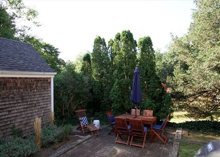 Orleans Cape Cod vacation rental - Patio