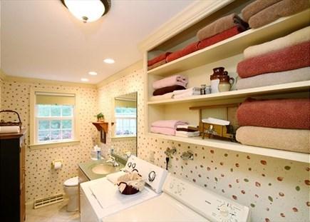 Yarmouth Cape Cod vacation rental - Bathroom/Laundry area